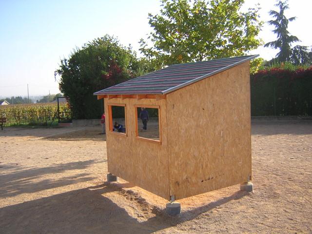 Construire Une Petite Cabane En Bois